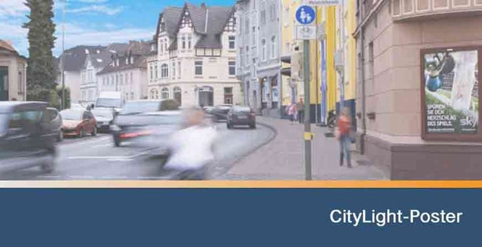 CityLight-Poster COMPLAC | COMPLAC Medienservice GmbH
